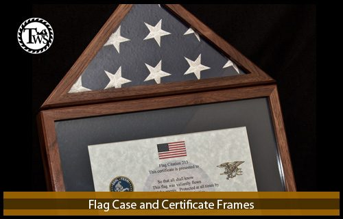 Flag Case and Certificate Frames